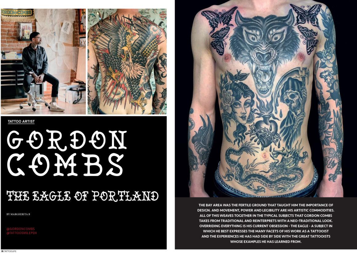 Gordon Combs: The eagle of Portland
