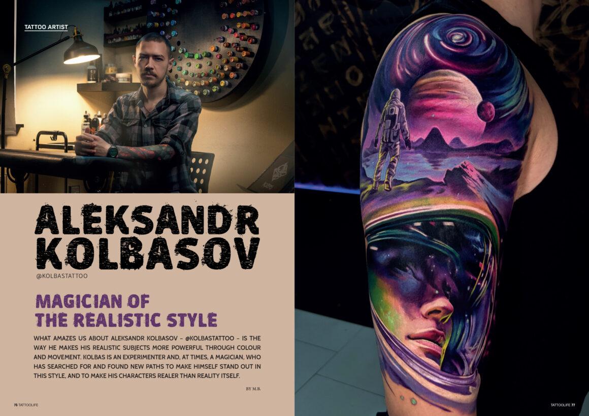 Aleksandr Kolbasov: Magician of the realistic style
