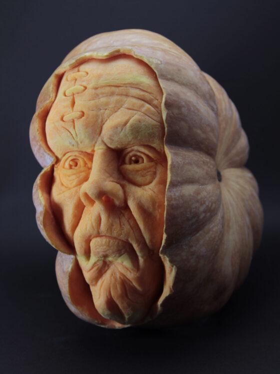 Pumpkin Frankenstein by Vincenzo Scuruchi