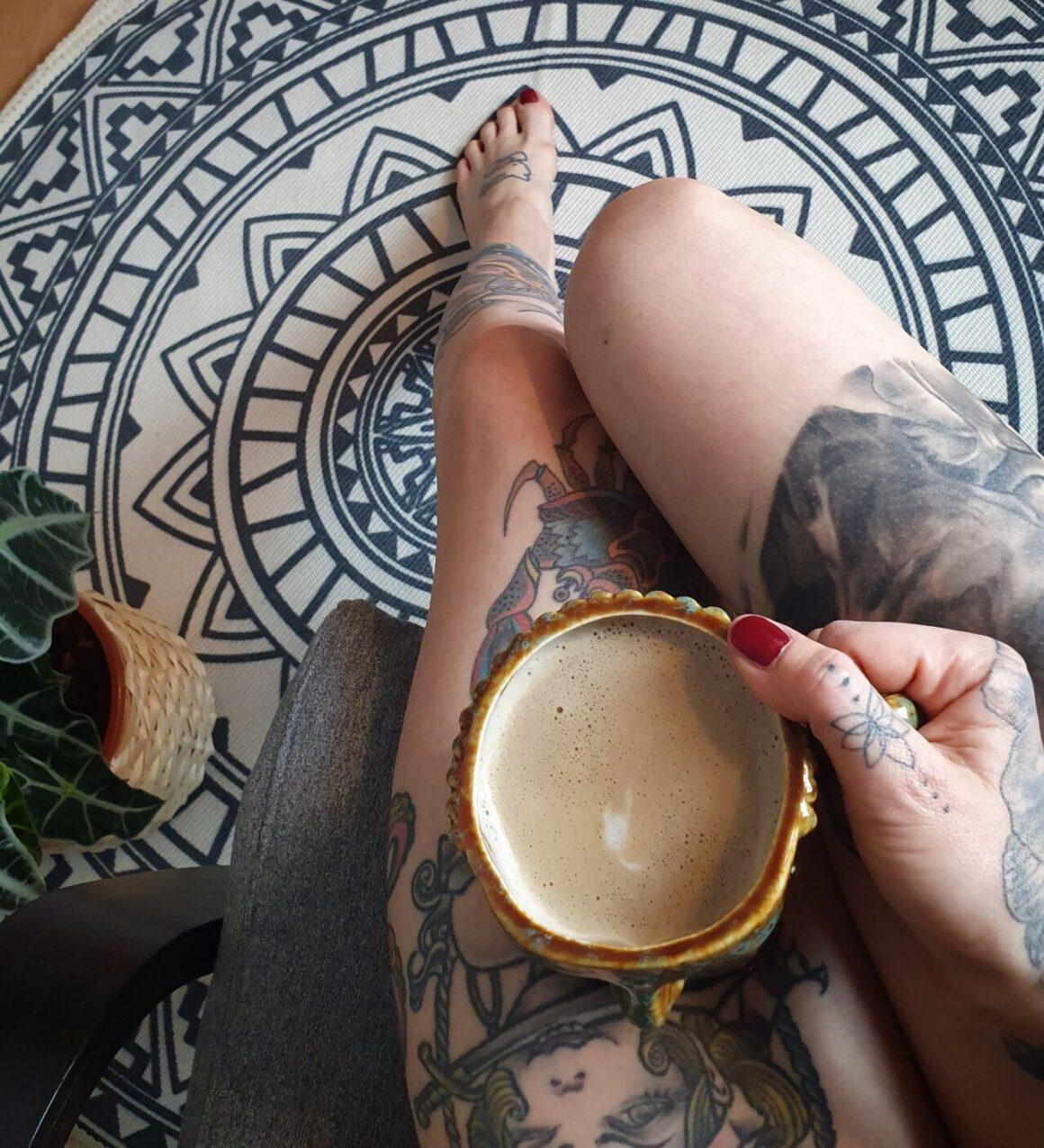 Franziska, tattoo model
