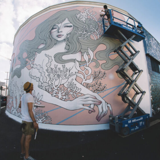 Audrey Kawasaki,Honolulu, Oahu, Hawaii, photo by Jonas Maon