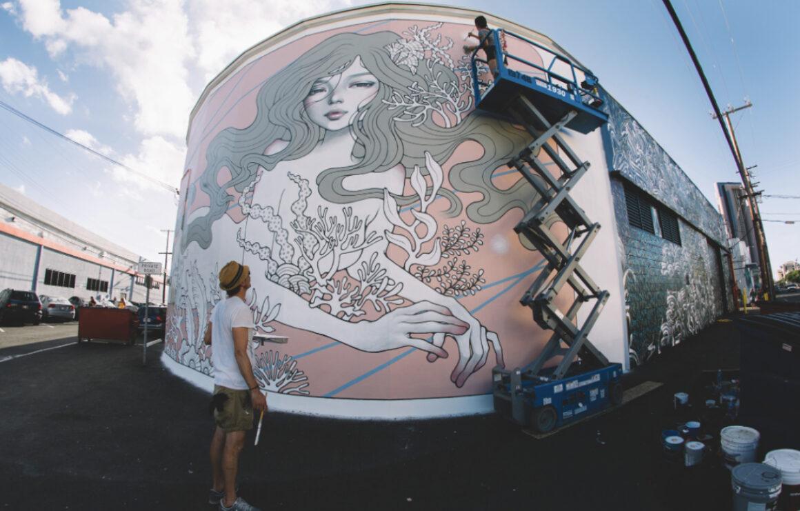 Audrey Kawasaki,Honolulu, Oahu, Hawaii, photo by Jonas Maon