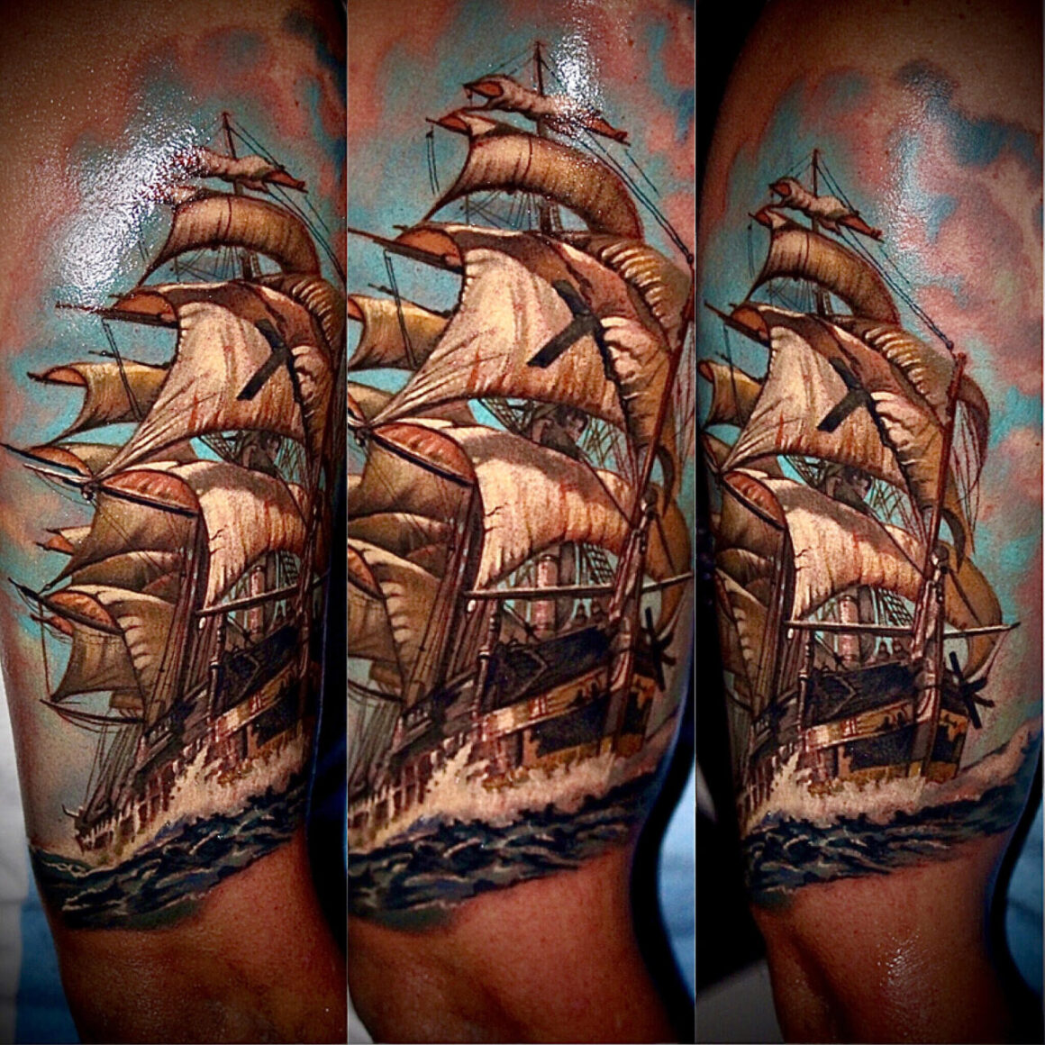 Damien Wickham, Ink Attack & The Black List Tattoo Sunshine Coast Australia, Las Vegas