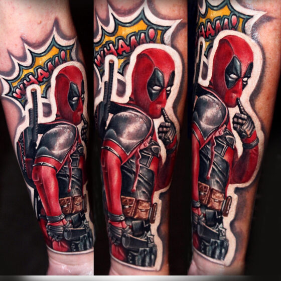 Damien Wickham, Ink Attack & The Black List Tattoo Sunshine Coast Australia, Las Vegas