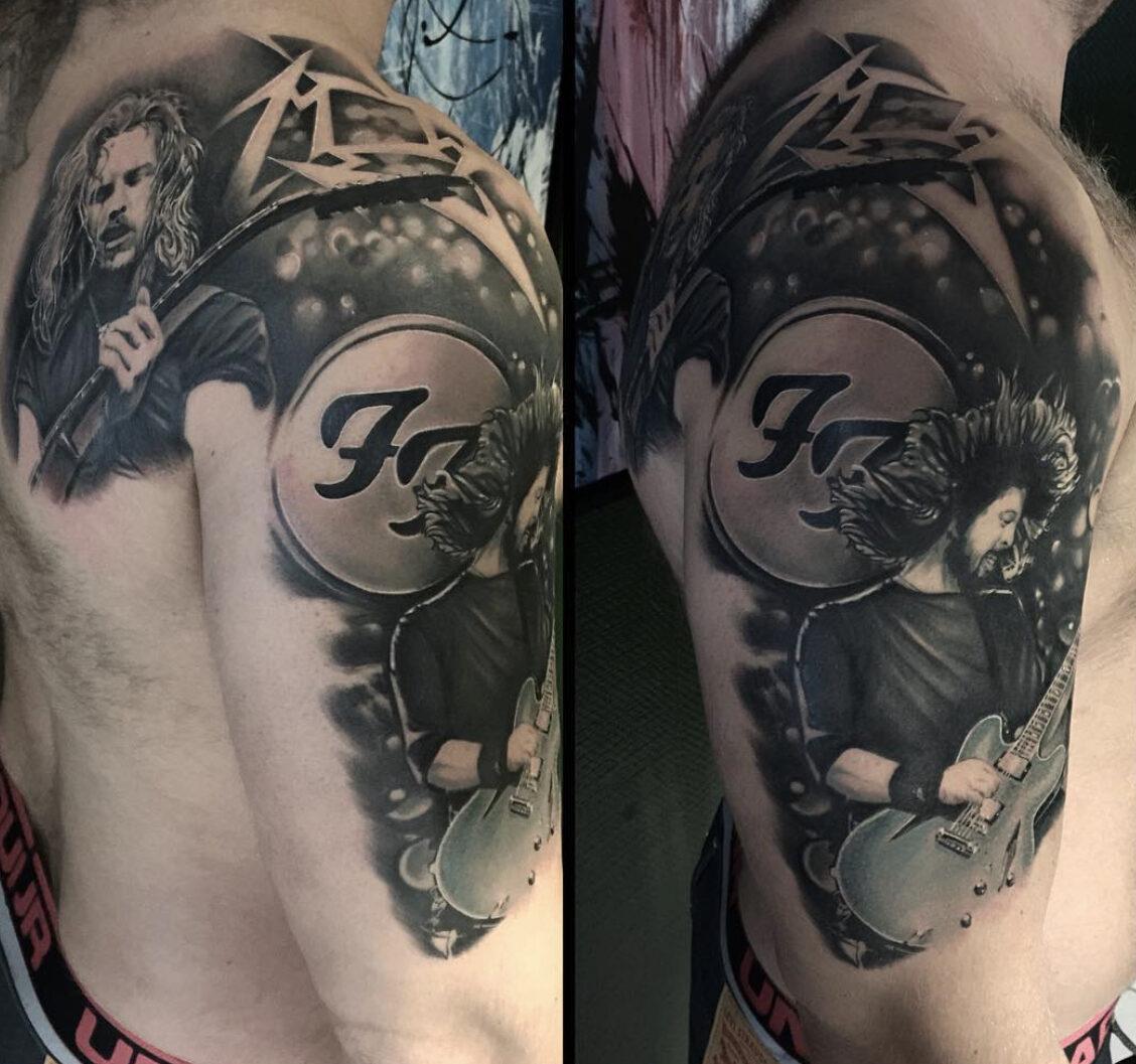 Jacob Pedersen, Crooked Moon Tattoo, Helsingborg, Sweden