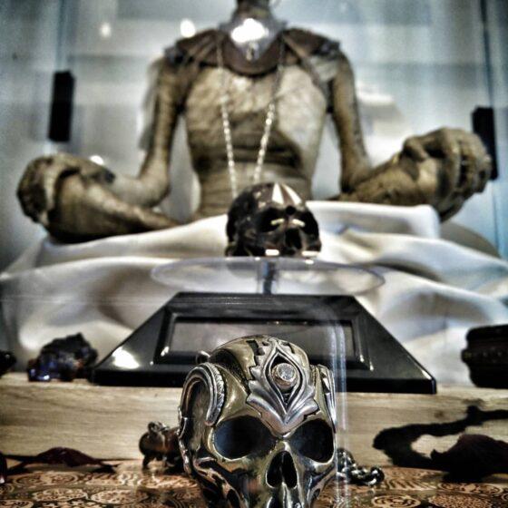 Judicael's skulls