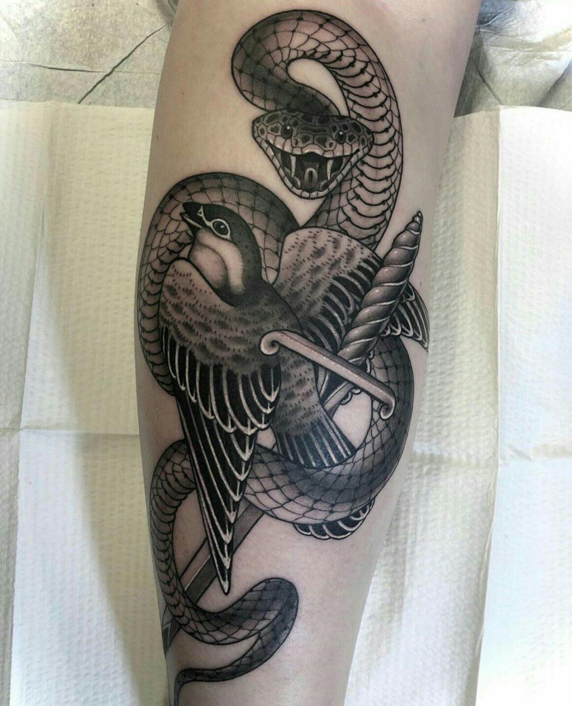 Nick Stegall, Amulet Tattoos. St. Petersburg, Russia