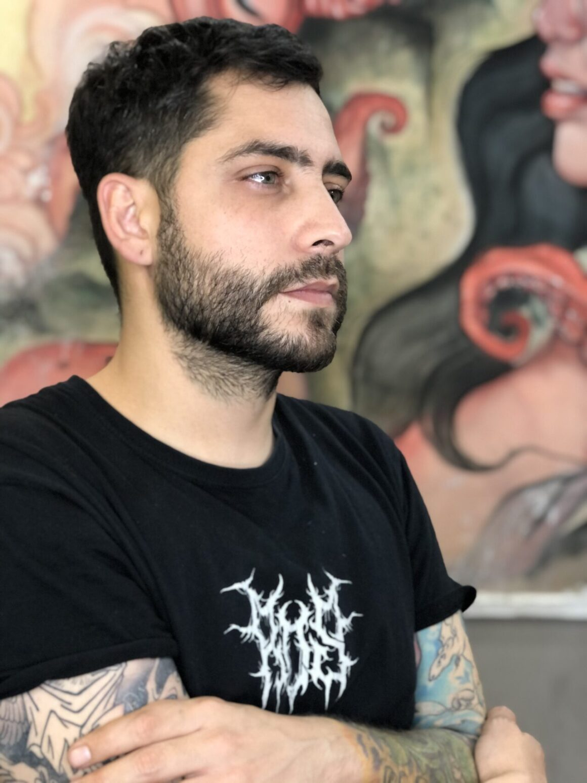 Oash, Old Boy Tattoo, Madrid, Spain
