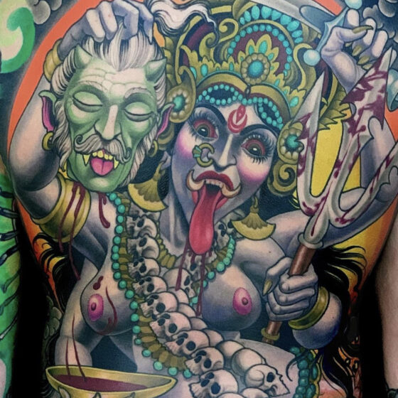 Peter Lagergren, Malmo Classic Tattooing, Malmo, Sweden