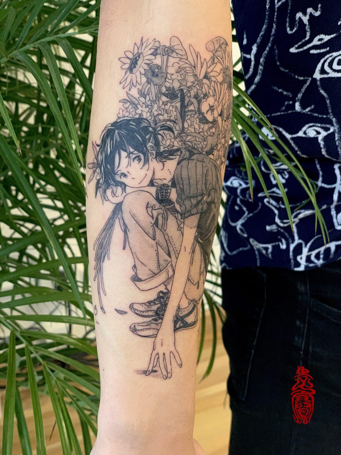 Sai Li, Mono Moon Tattoo, San Francisco, USA