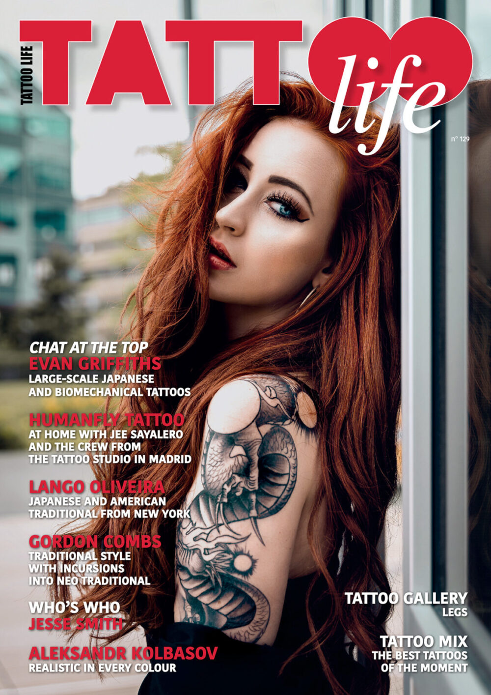 Tattoo Life Magazine March April 2021