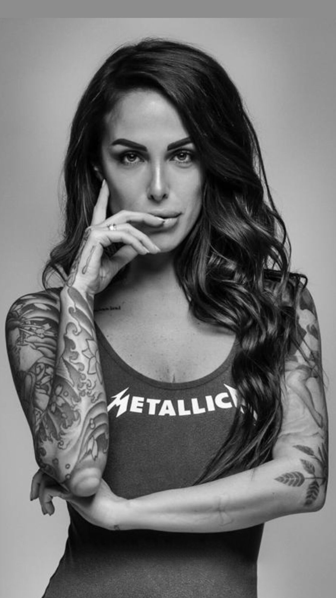 Arianna Piras, tattoo model