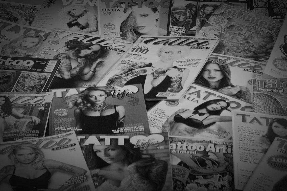 Tattoo Life Magazine Section