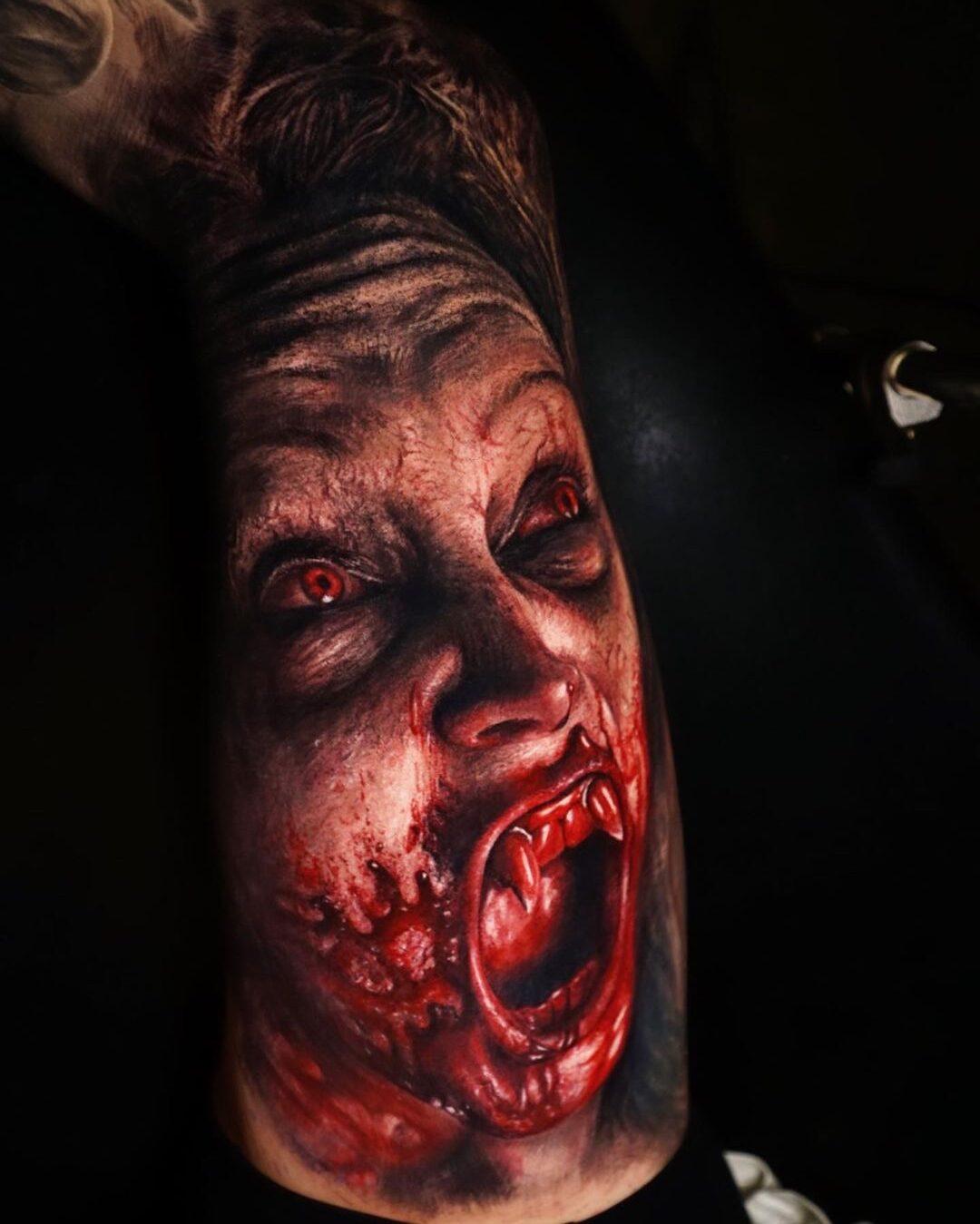 Adrian Sanchez, Chinatown Tattoo, Madrid, Spain