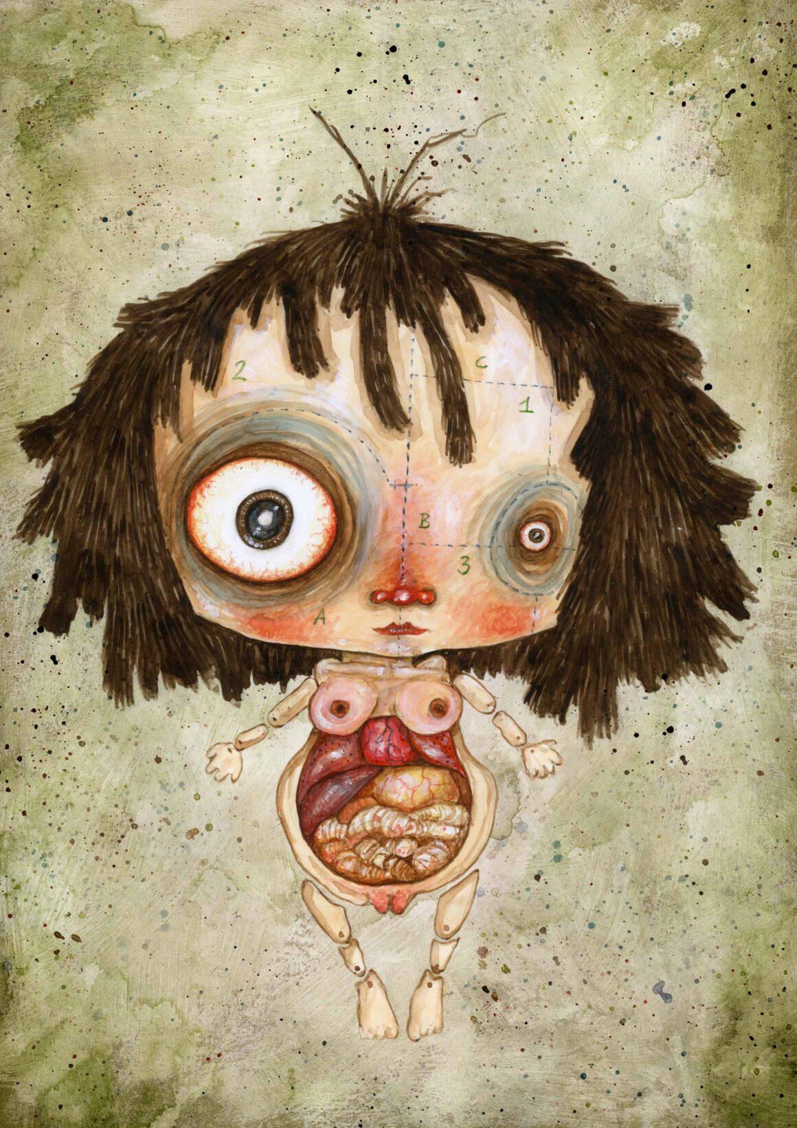 Bambola anatomica, Stefano Bessoni