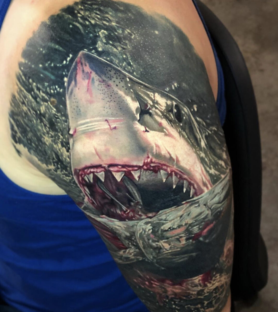 Ben Kaye, Ship Shape Tattoo, Auckland, New Zealand