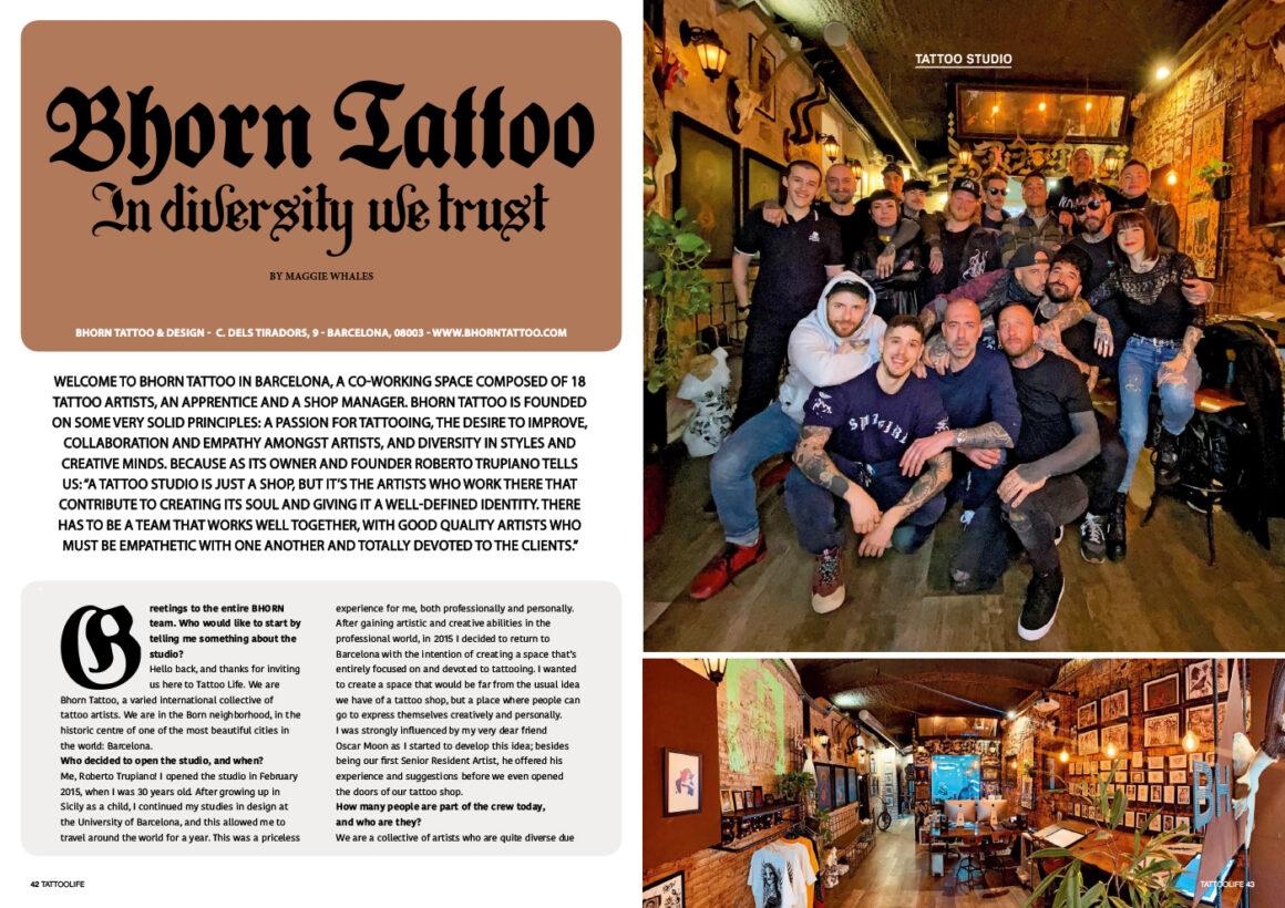 Bhorn Tattoo: In Diversity We Trust