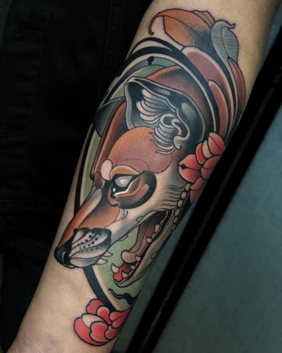 Chris Arroyo, Nueva Sangre Tattoo, Ciudad de Mexico, Mexico