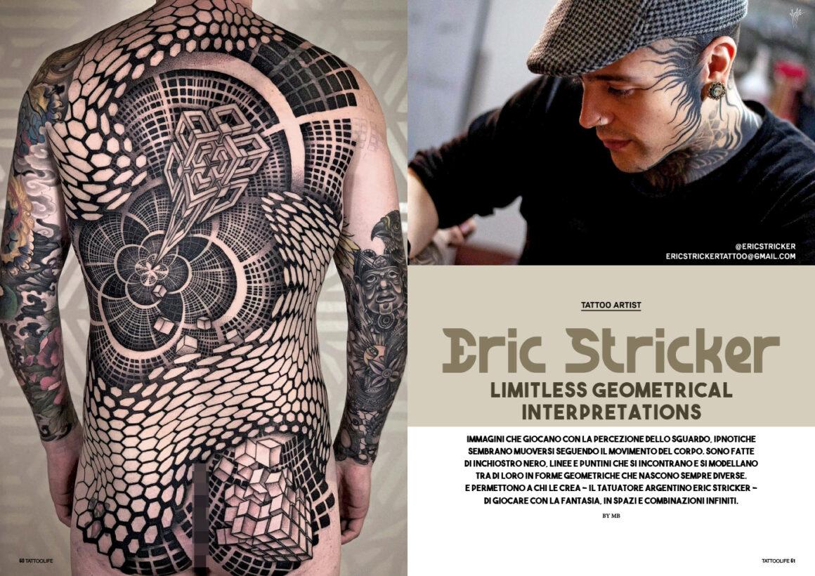 Eric Stricker: Limitless geometrical interpretations