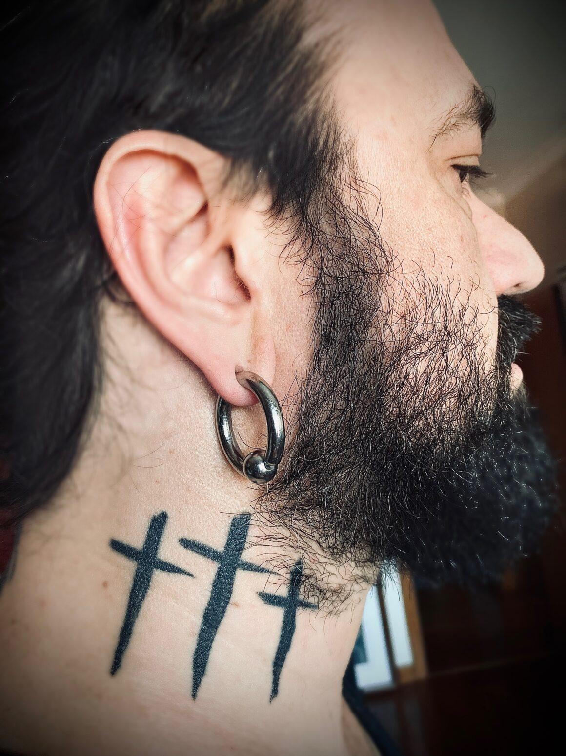 Fernando Ribeiro, Moonspell (tattoo