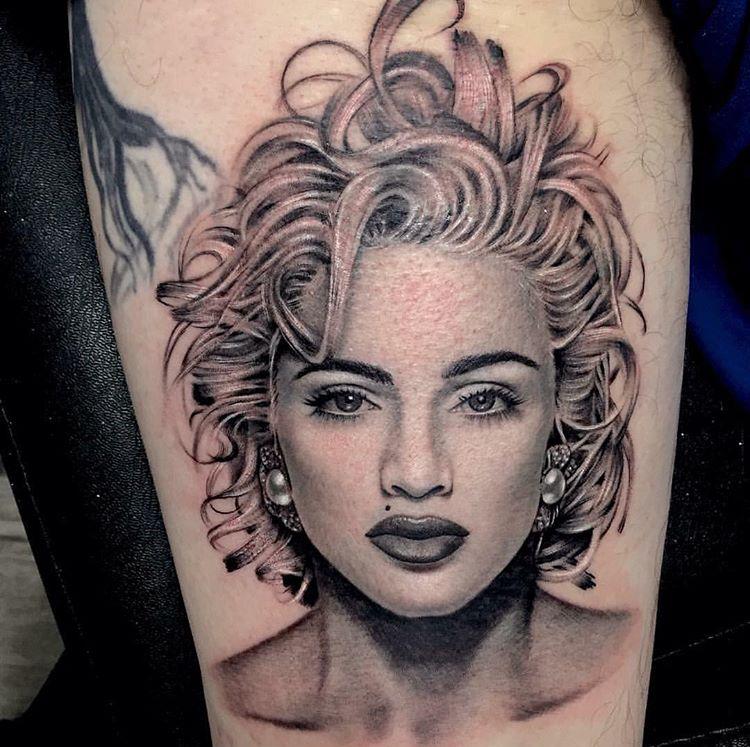 George Winterling, Pinz & Needlez Tattoo Studio, Edgewood, USA