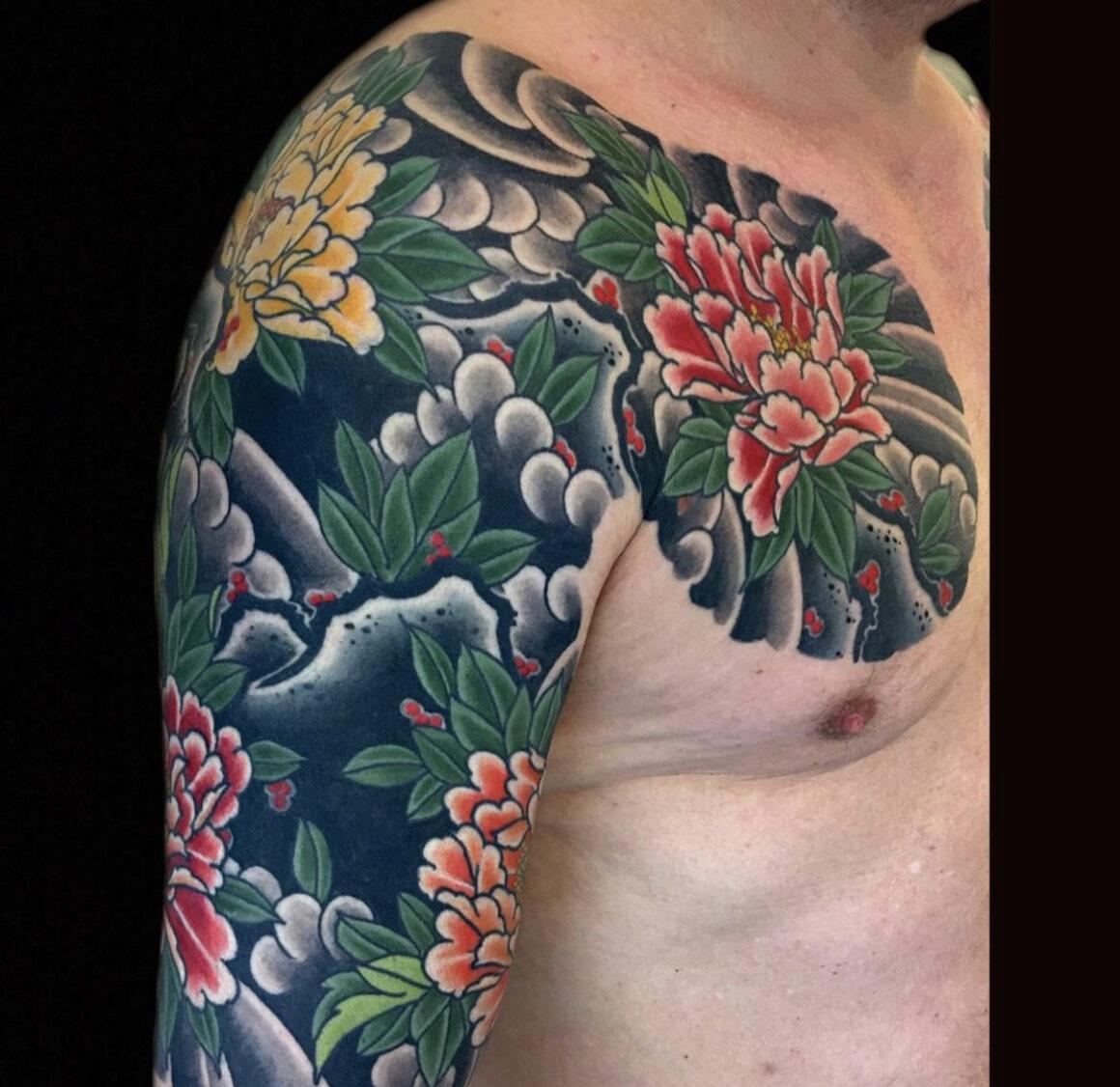 Henning Jorgensen, Royal Tattoo, Helsingor, Denmark