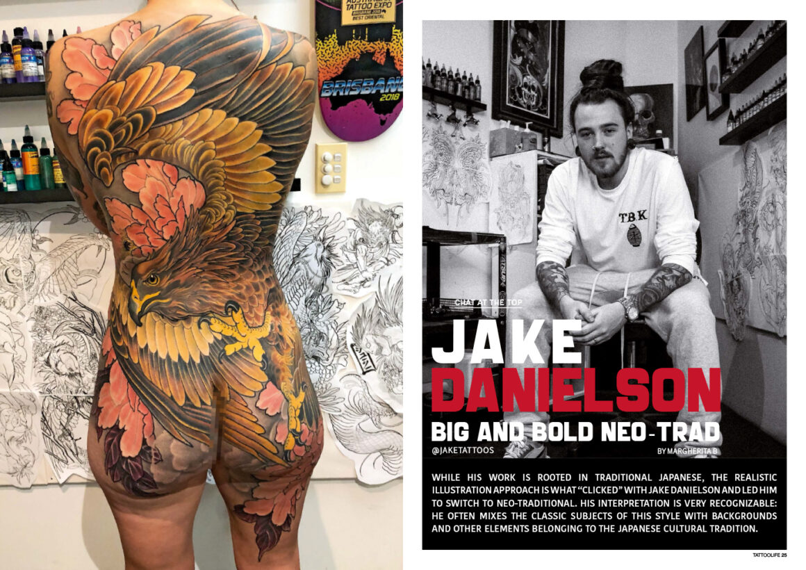 Jake Danielson: Japanese inspired Neo-Traditional