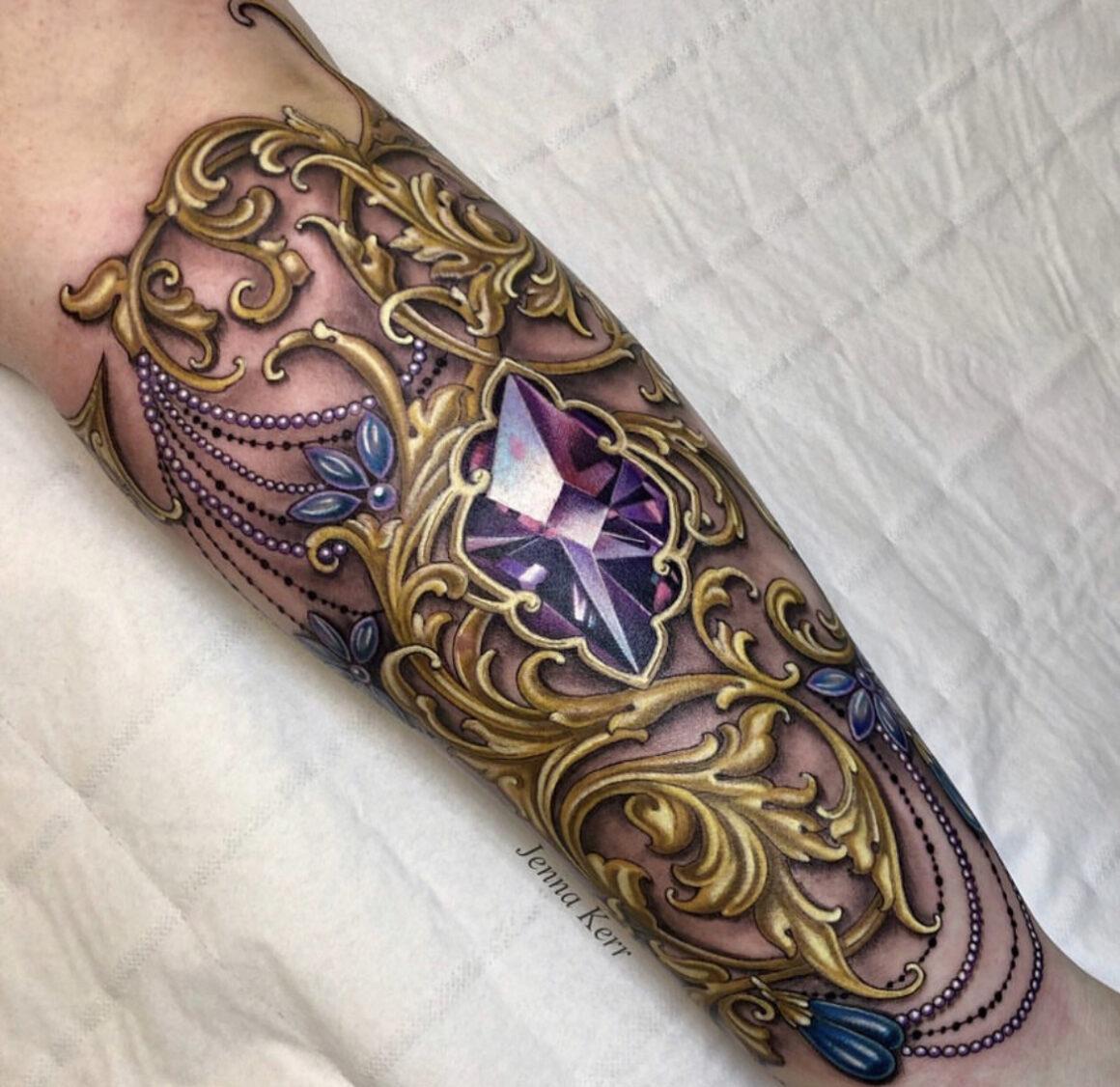 Jenna Kerr, Royal Gothic Tattoo Studio, Bridgend, UK