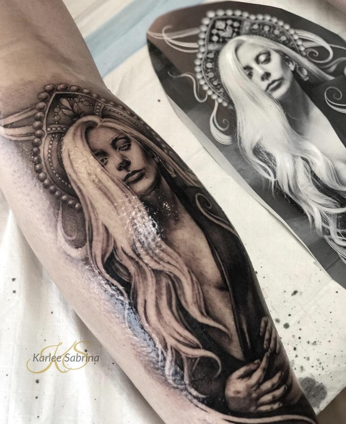 Karle Sabrina, Garage Ink, Gold Coast, Australia