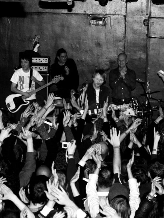 Radiohead, photo by Andy Willsher