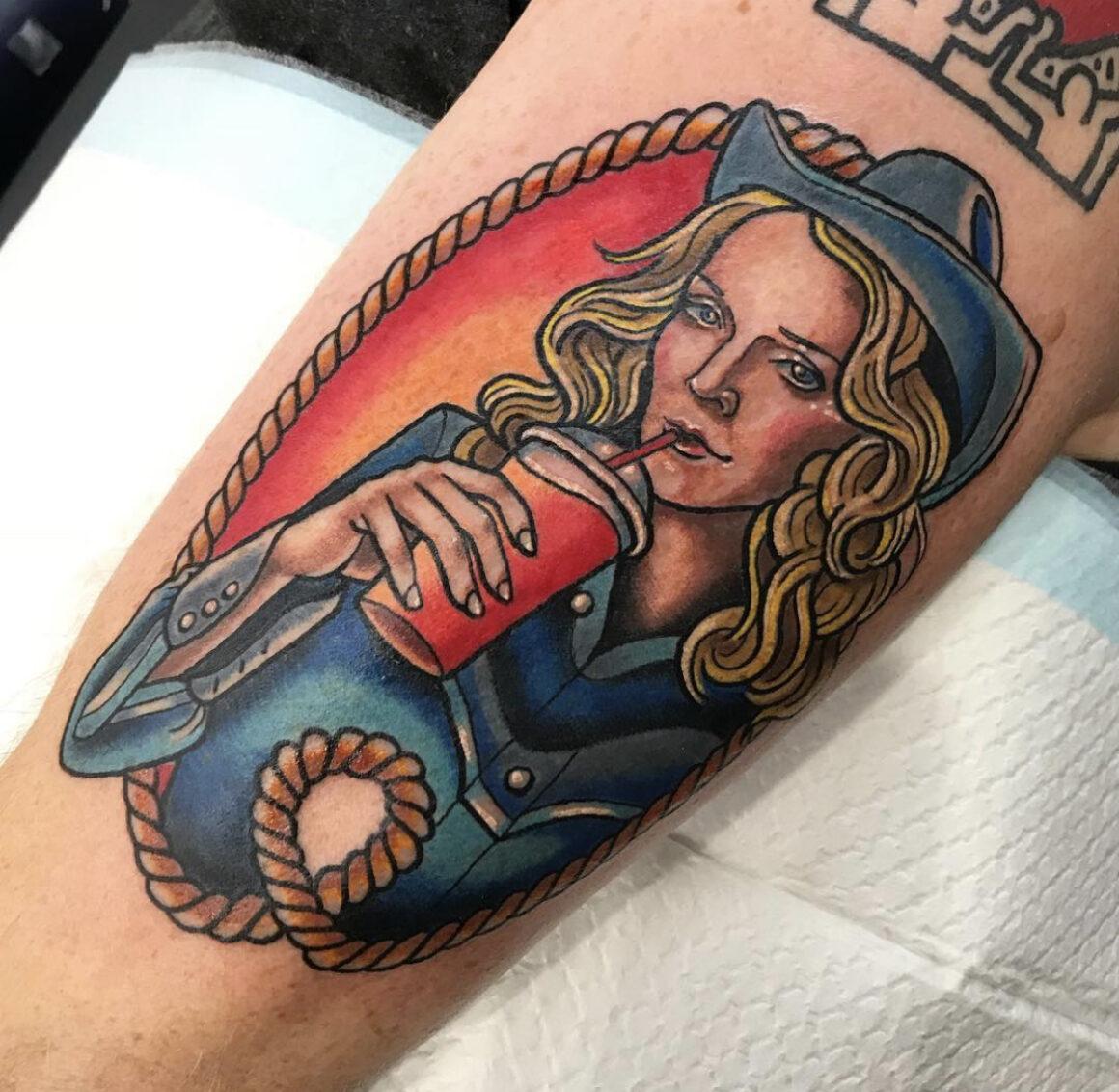 Sarah-K, Heartbreakers Tattoo Club, Adelaide, Australia