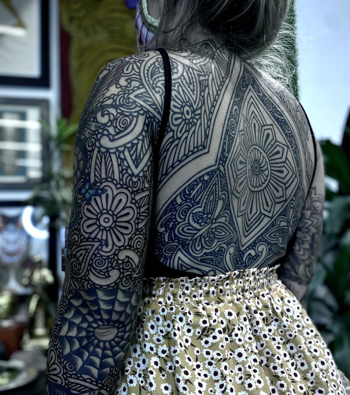 Savannah Colleen, The Tattoo Dojo, Atlanta, GA, USA