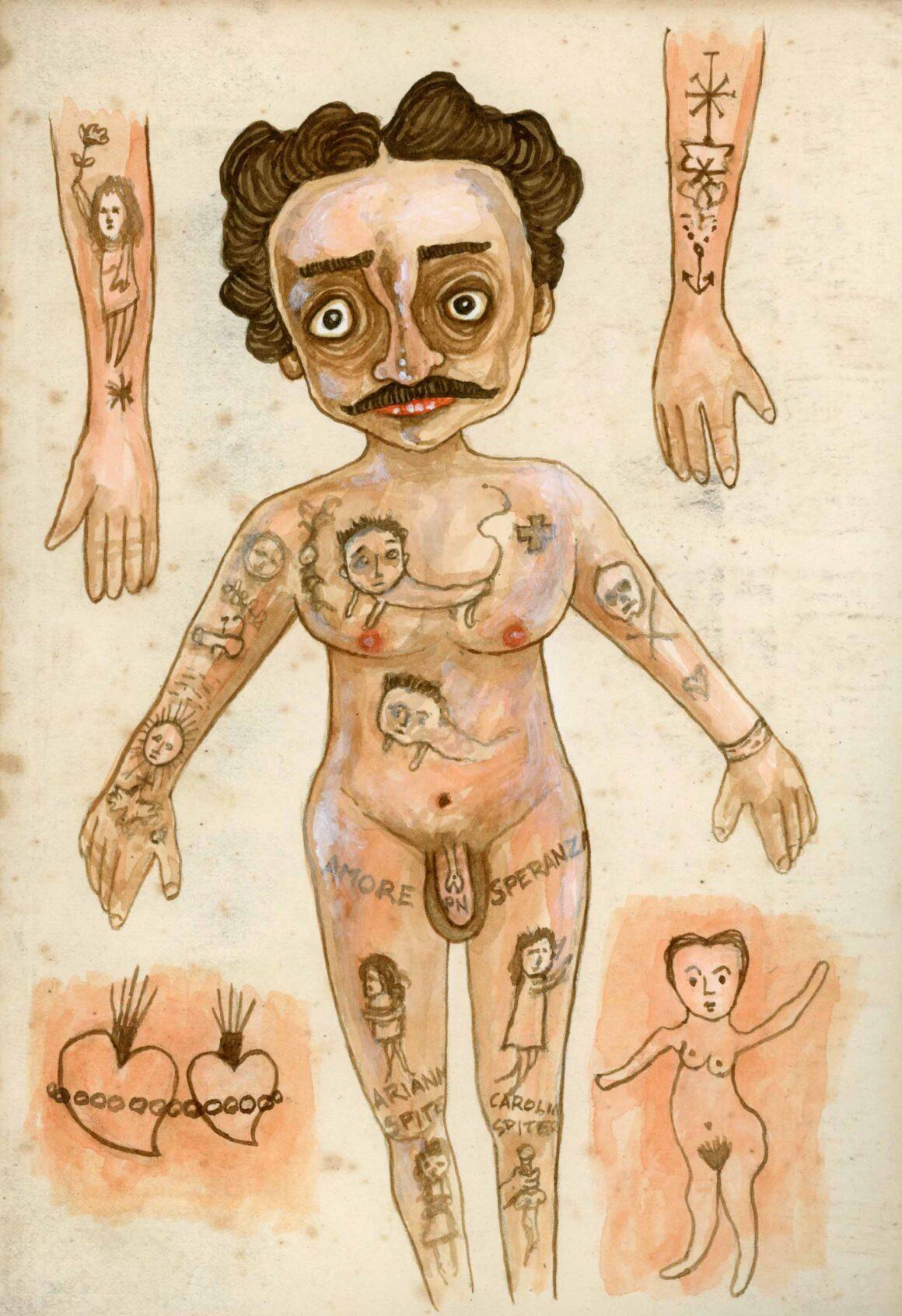 Tatuaggi, Stefano Bessoni