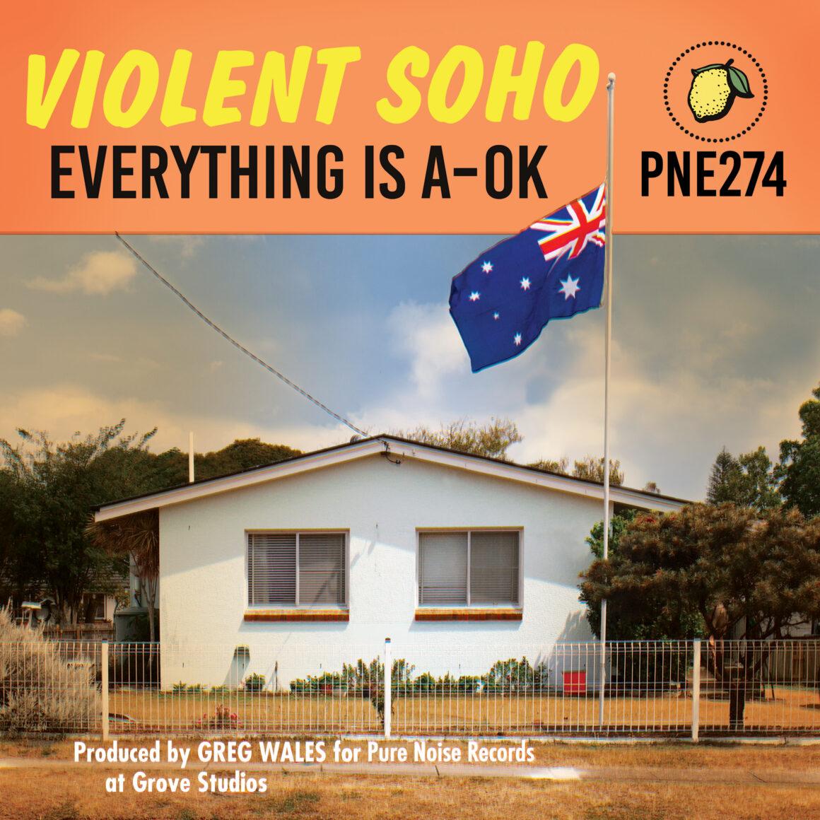 Violent Soho, album cover