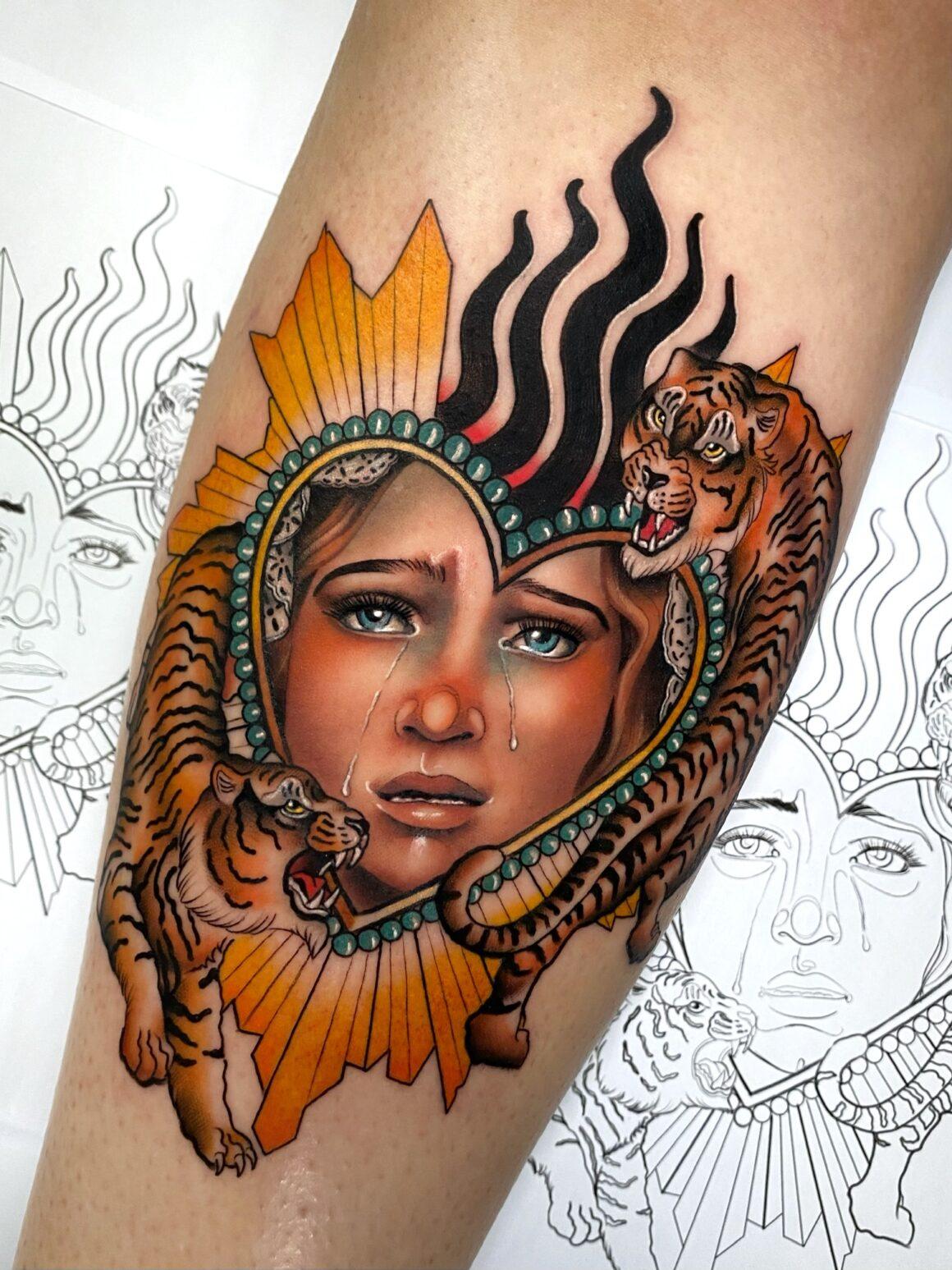 Viviana Calvo, Soho Tattoo Malaga, Malaga, Spain