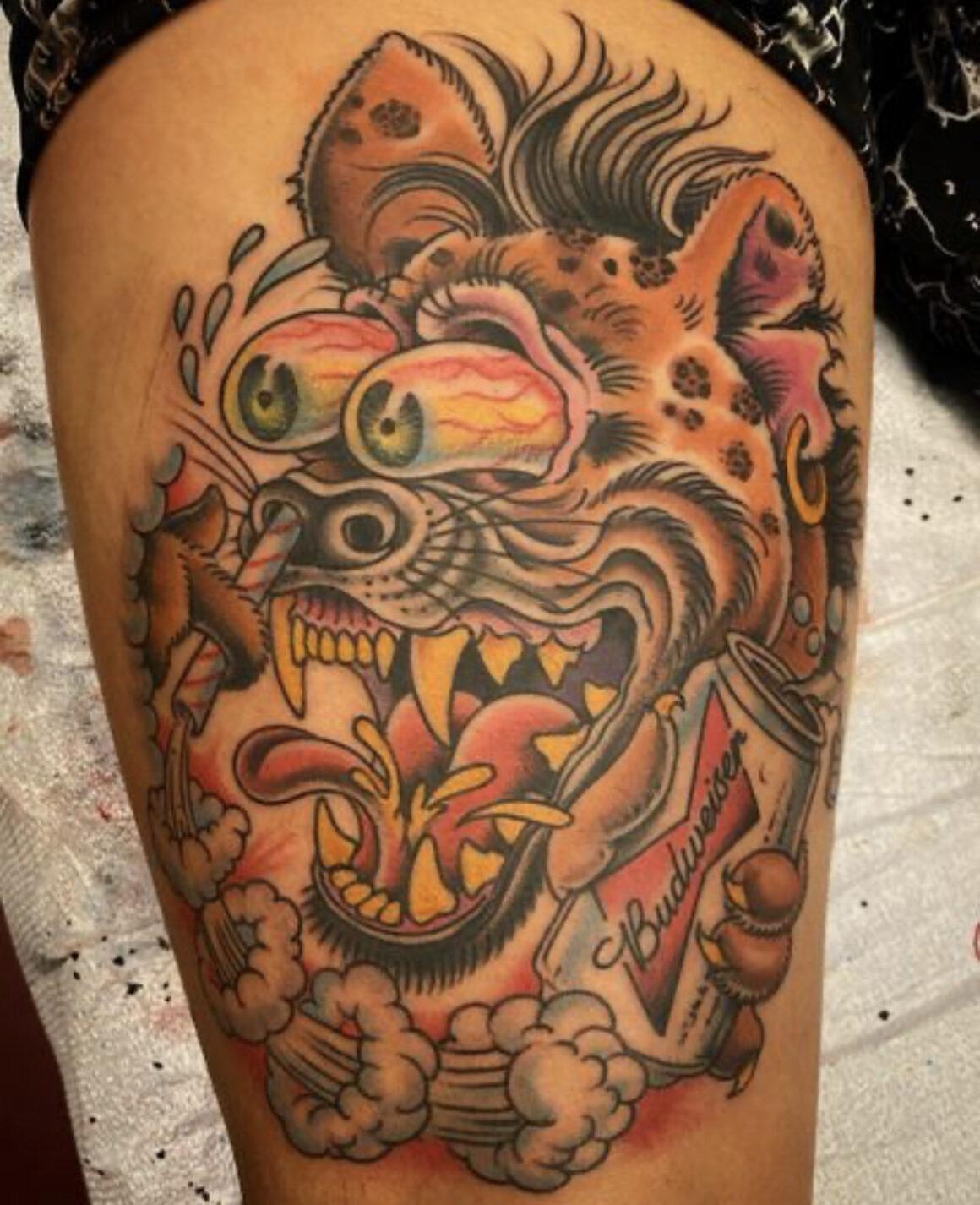 Adam Warmerdam, Dark Horse Tattoo, Los Angeles, USA