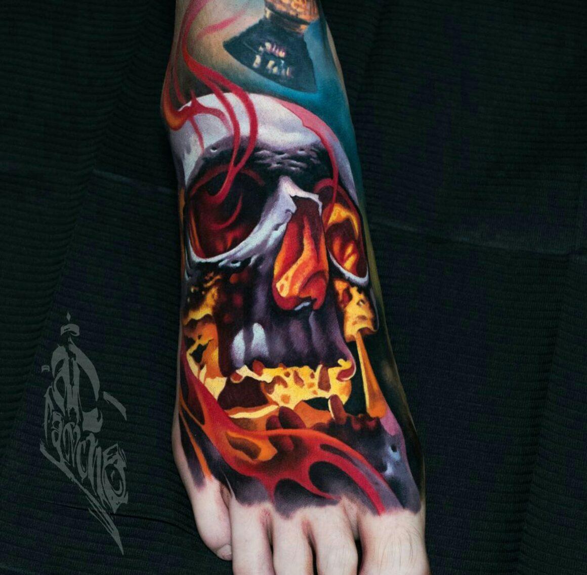 Alex Pancho, AD Pancho Tattoo Studio, Utrecht, Netherlands
