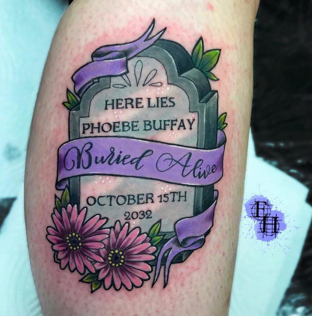Emily May Art & Tattoo, Skull and Dagger Tattoo, Frome, UK