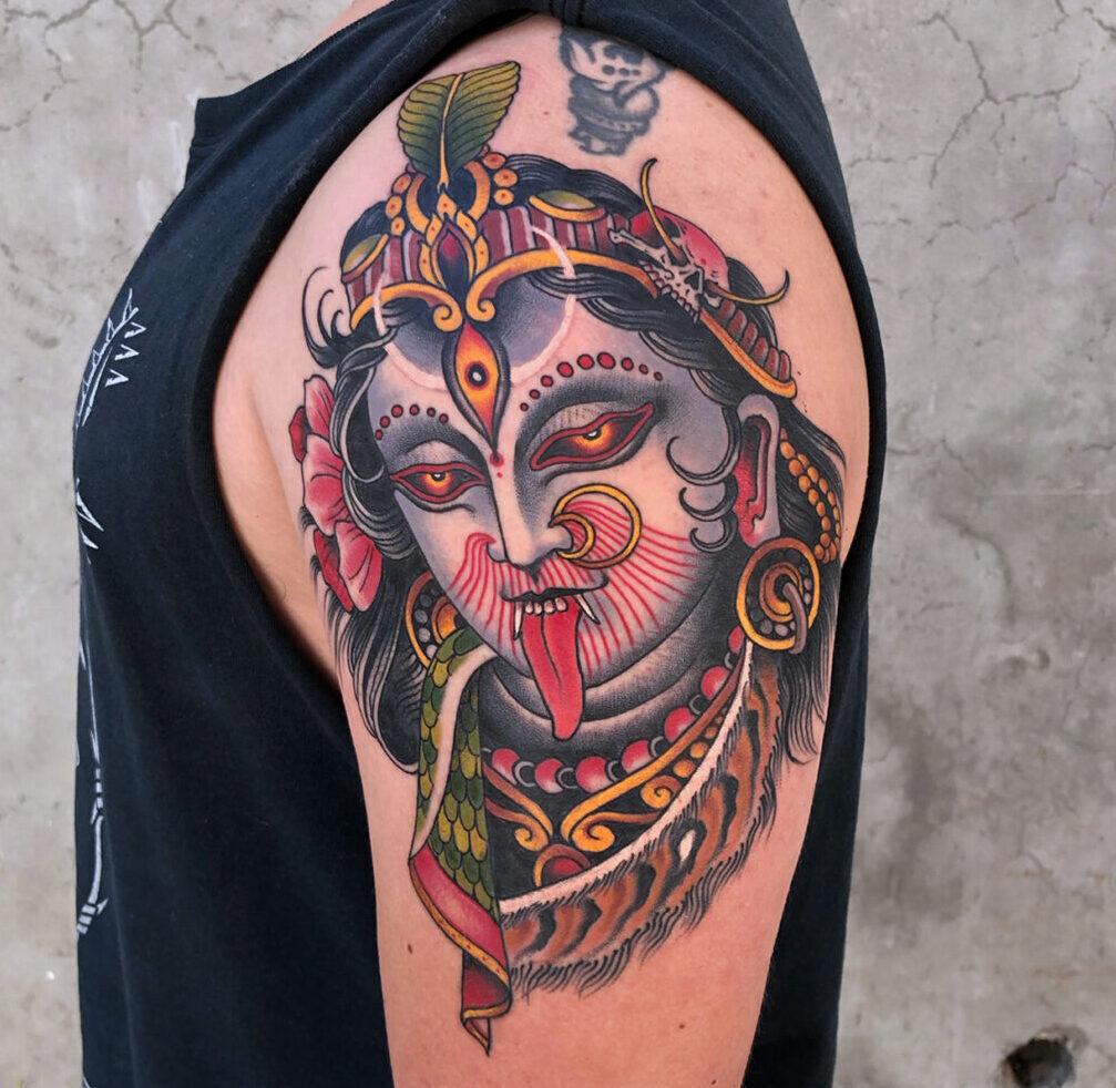 Herb Auerbach, California Electirc Tattoo, Soquel, California, USA