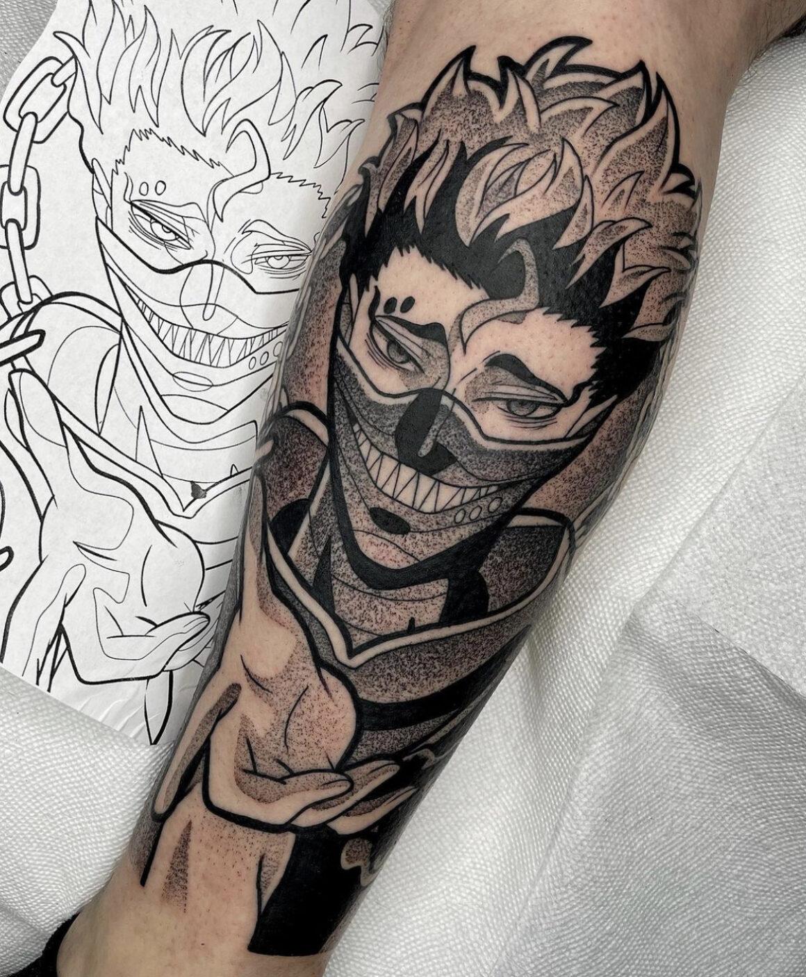 Kodi Ellis, Fountain Square Tattoo, Indianapolis, Italy