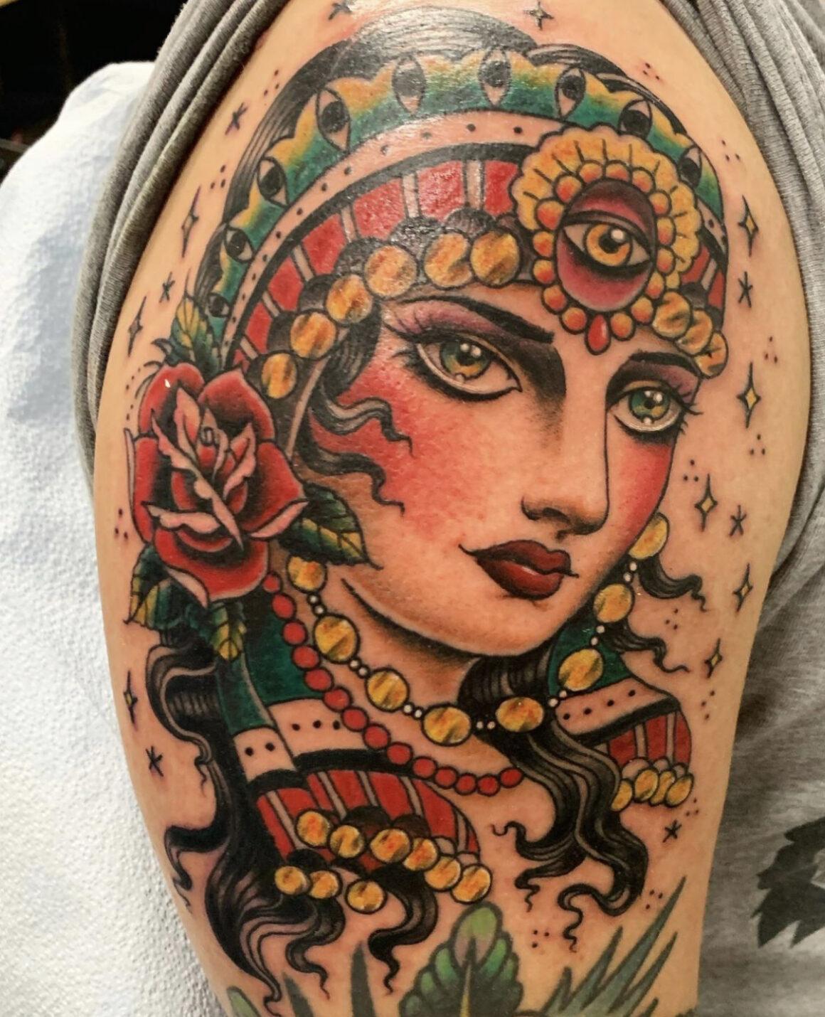Mary Joy Scott, Raven Eye Tattoo, San Francisco, USA