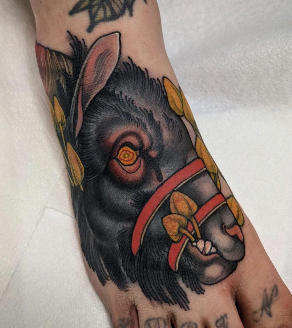 Mitchell Allenden, Gold Room Tattoo, Leeds, UK
