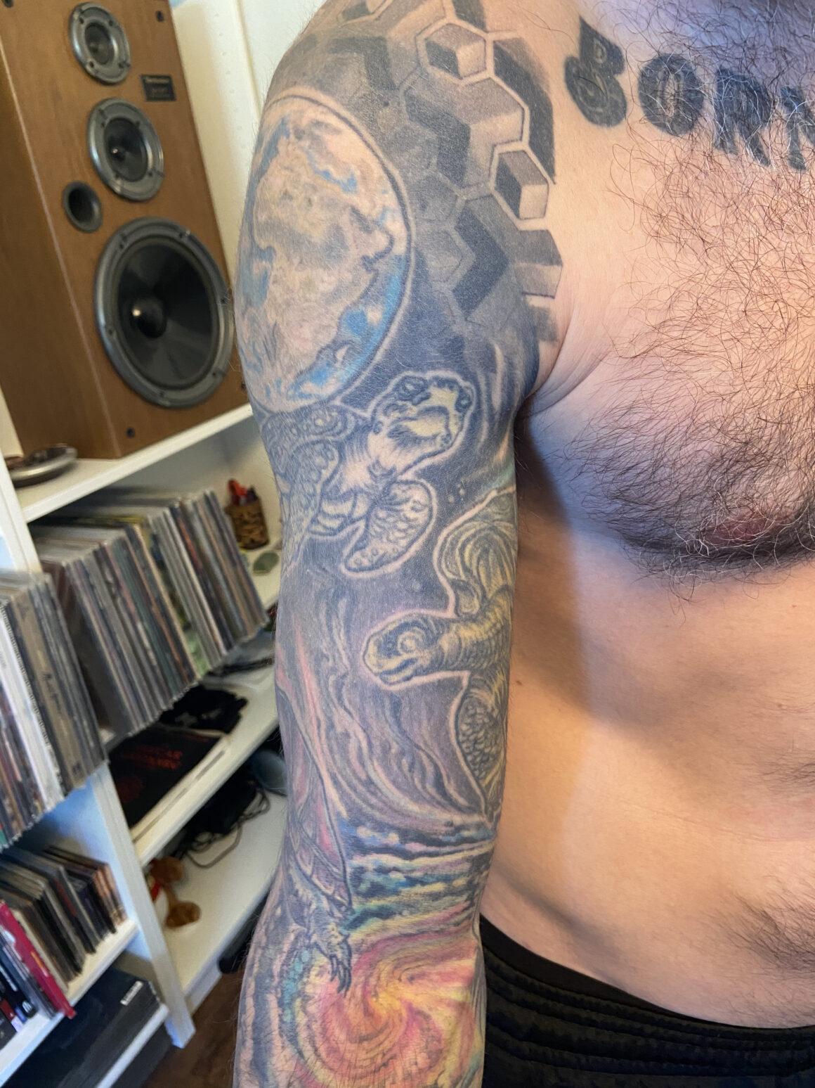 Nate Garrett (Spirit Adrift) tattoos