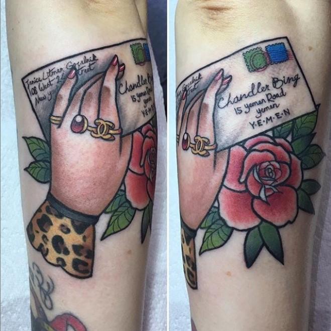 Stephanie Melbourne, The Church Tattoo, UK