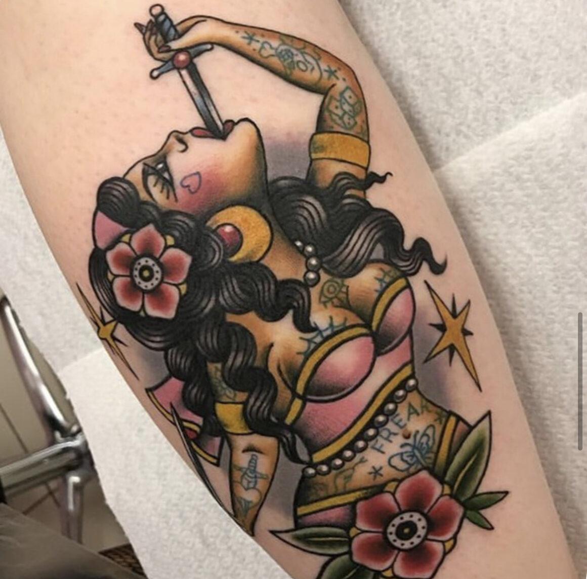 Alessia, Hell Cat Tattoo Studio, Liverpool, UK