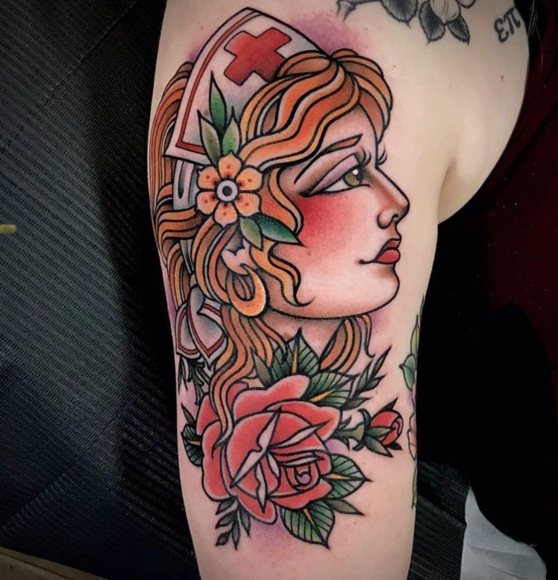 Amanda Slater, Lakeside Tattoo Co., Richmond, USA