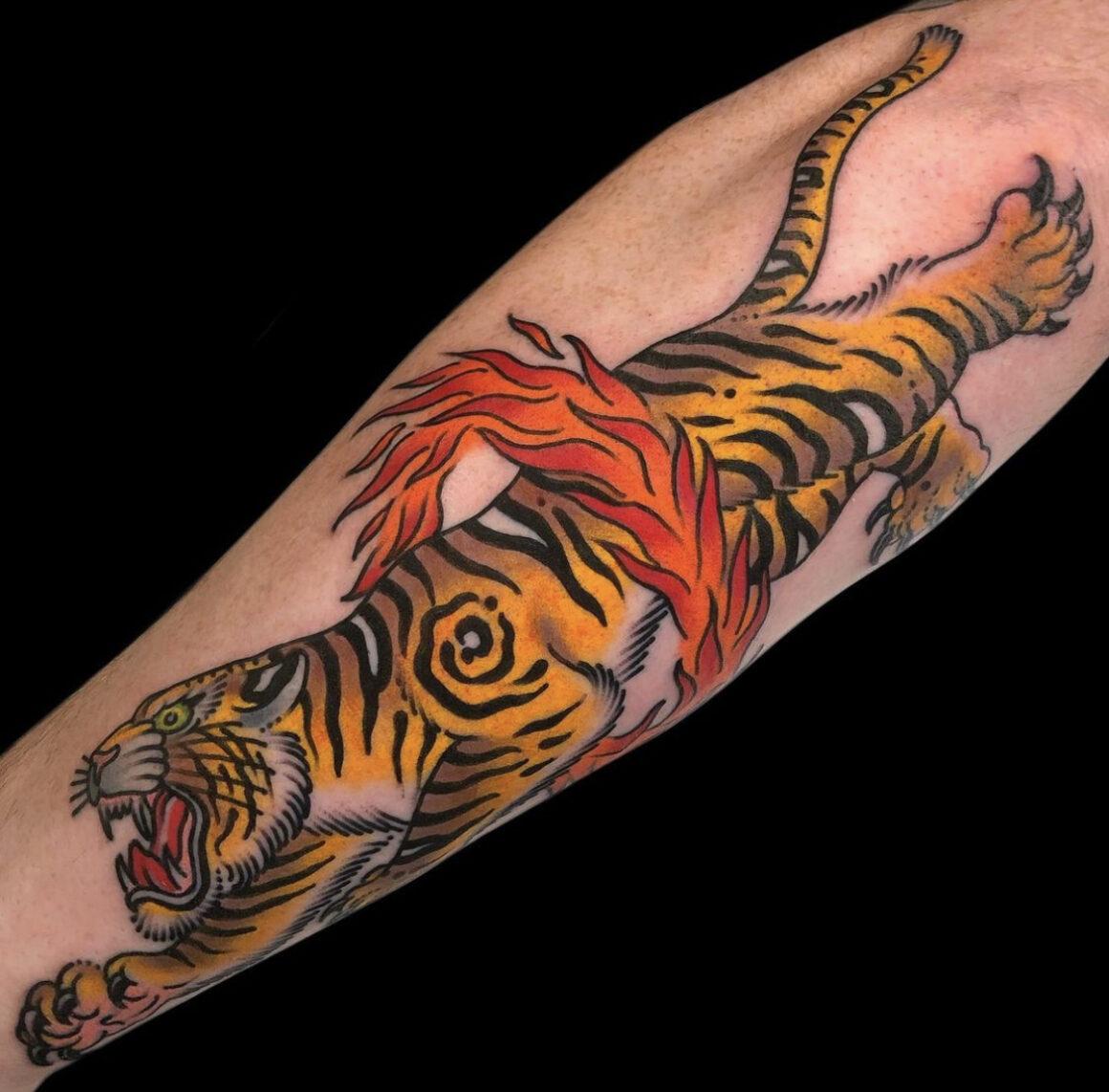 Andy Reach, Redemption Tattoo, Cambridge, USA