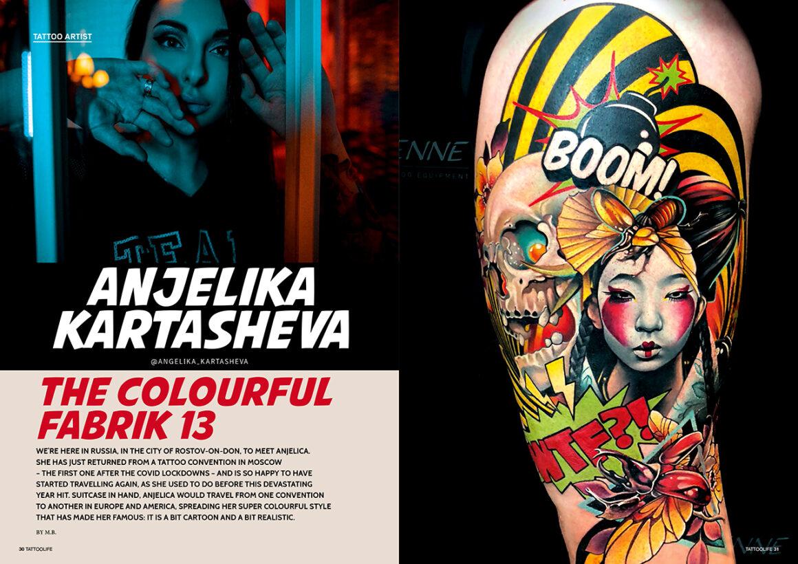 Anjelika Kartasheva: The colourful Fabrik 13