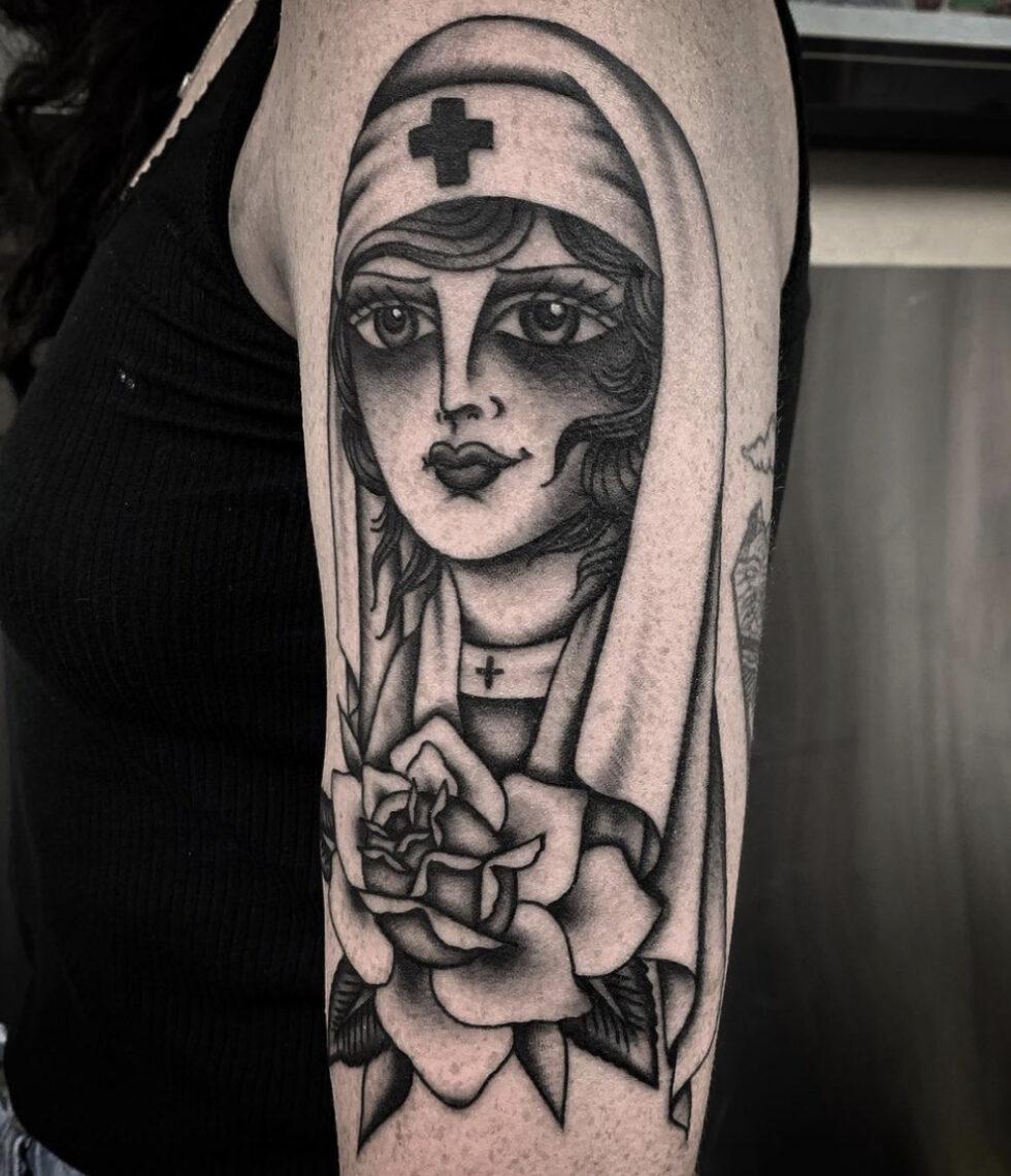 Beth Lonsdale, The Darling Parlour Tattoo, Sydney, Australia