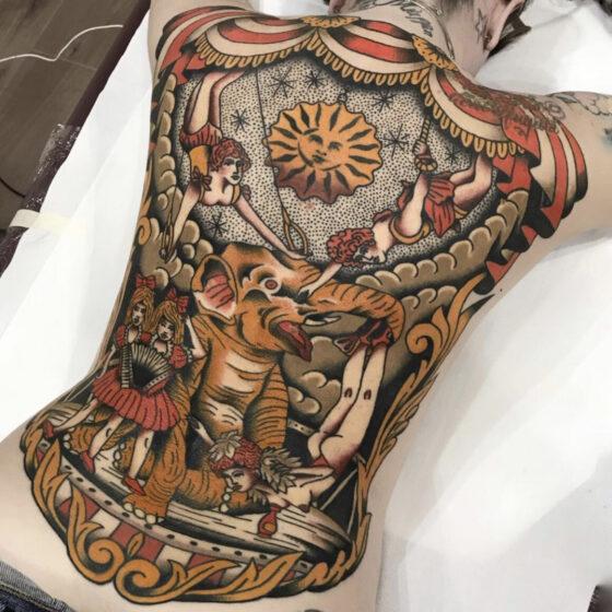 Capa, Tattoo Circus Bientina, Bientina, Italy
